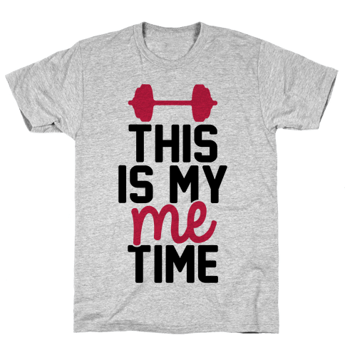 This Is My Me Time (Black & Red) Mens T-Shirt