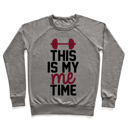 This Is My Me Time (Black & Red) Pullover