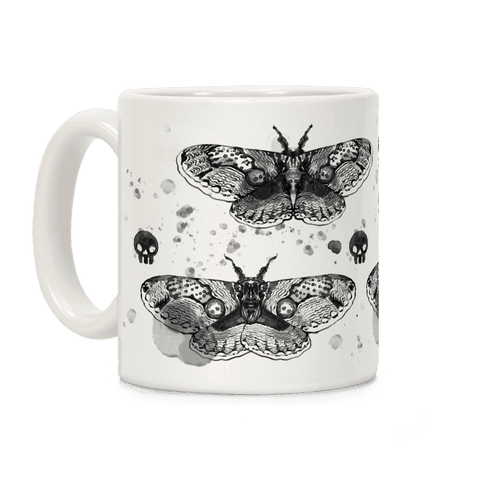 Death Head Moth Coffee Mug