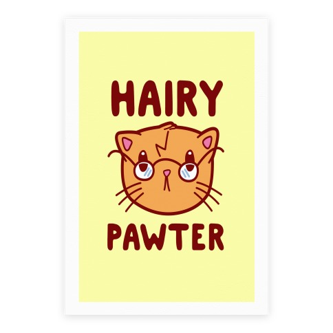 Hairy Pawter Poster