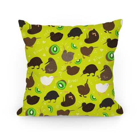 Kiwi Pattern Pillow