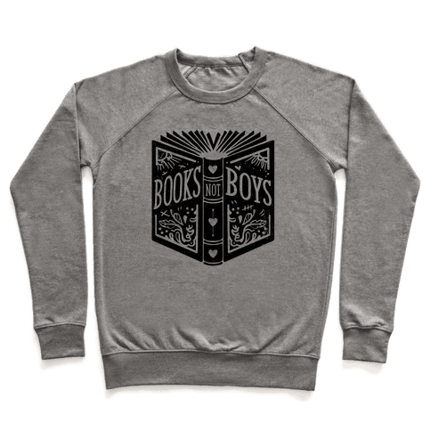 Books Not Boys Pullover
