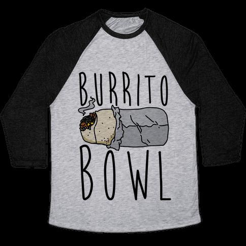 Burrito Bowl Baseball Tee