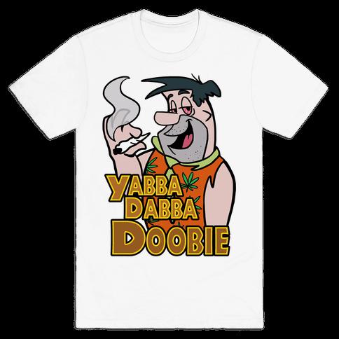 Yabba Dabba Doobie Mens T-Shirt