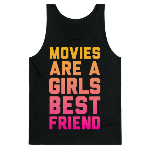 Movies Are a Girls Best Friend Tank Top