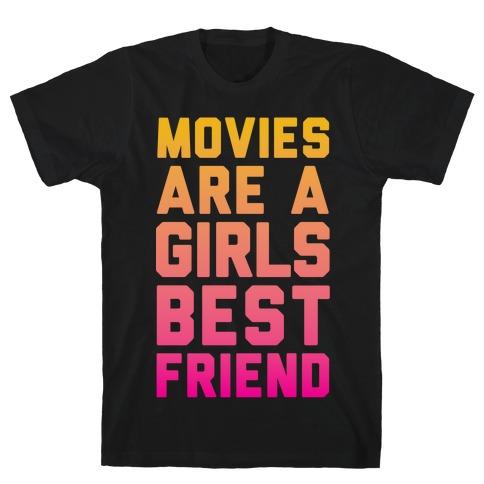 Movies Are a Girls Best Friend Mens/Unisex T-Shirt