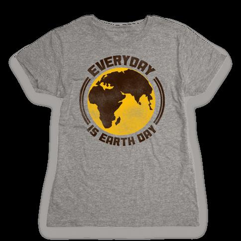 Earth Day Womens T-Shirt