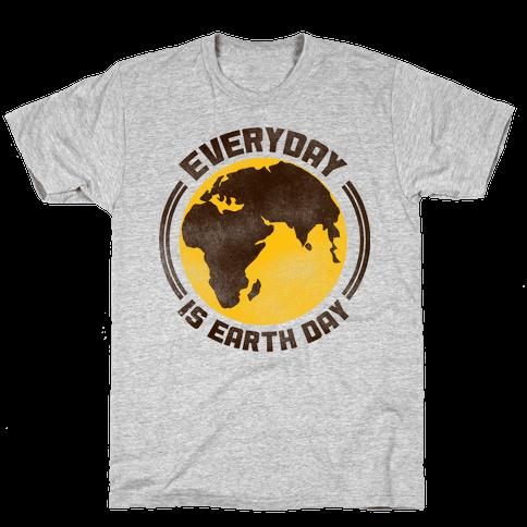 Earth Day Mens T-Shirt