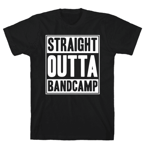 Straight Outta Band Camp Mens T-Shirt