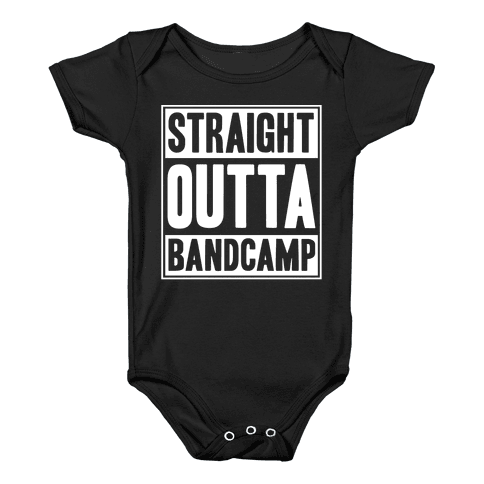 Straight Outta Band Camp Baby Onesy