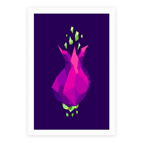 Blooming Crystal Poster