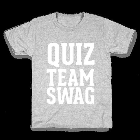 Quiz Team Swag Kids T-Shirt