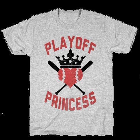Playoff Princess Mens T-Shirt