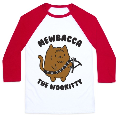 Mewbacca the Wookitty Baseball Tee