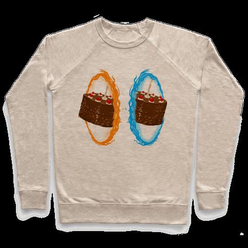 Portal Cake Pullover