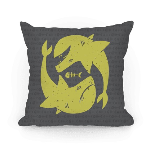 Infinite Sharks Pillow