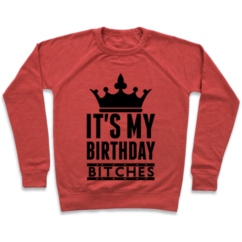 It's My Birthday, Bitches Pullover