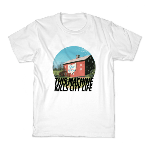 Country Life Kills City Life Kids T-Shirt