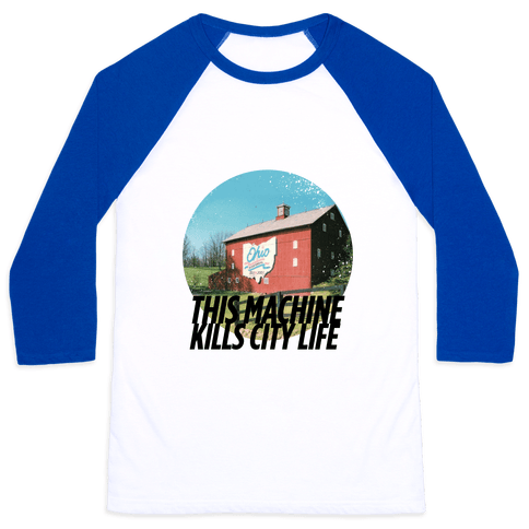 Country Life Kills City Life Baseball Tee