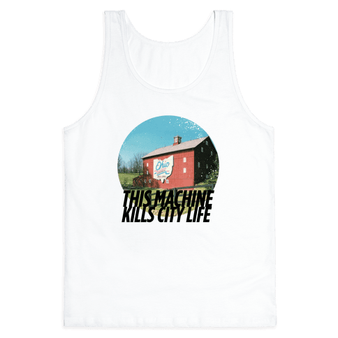 Country Life Kills City Life Tank Top