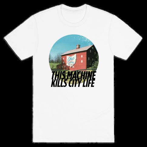 Country Life Kills City Life Mens T-Shirt