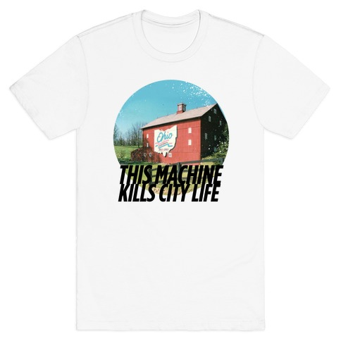 Country Life Kills City Life Mens T-Shirt