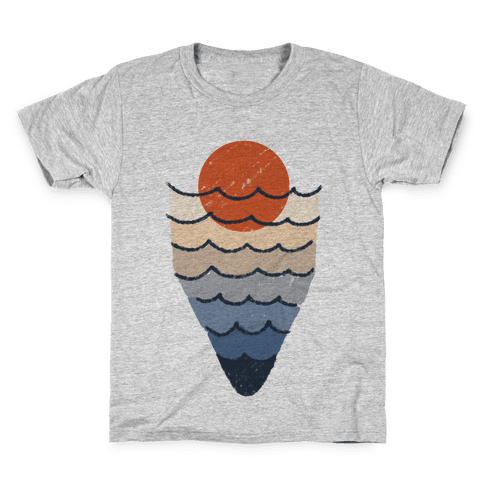 Ocean Sketch Kids T-Shirt