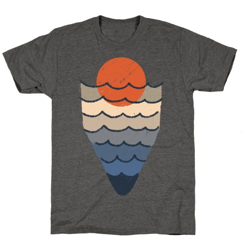Ocean Sketch T-Shirt