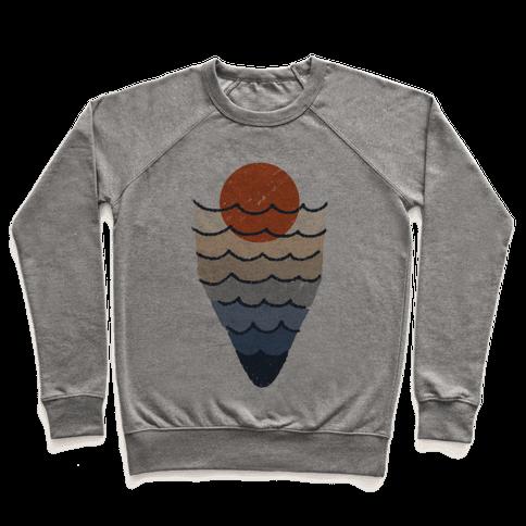 Ocean Sketch Pullover