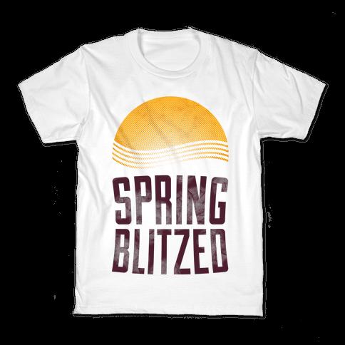 Spring Blitzed Kids T-Shirt