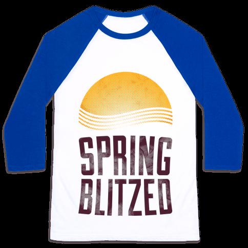 Spring Blitzed Baseball Tee