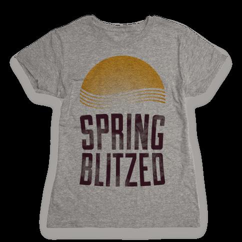 Spring Blitzed Womens T-Shirt