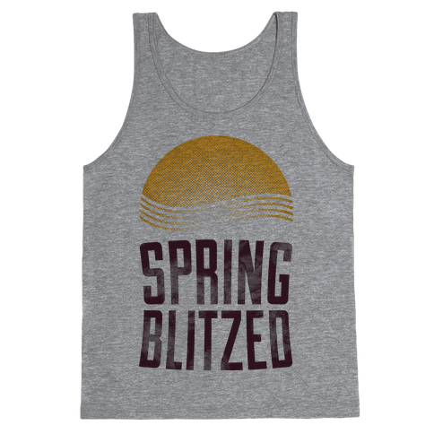 Spring Blitzed Tank Top
