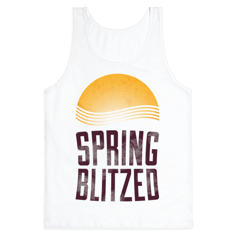 Spring Blitzed Tank Top