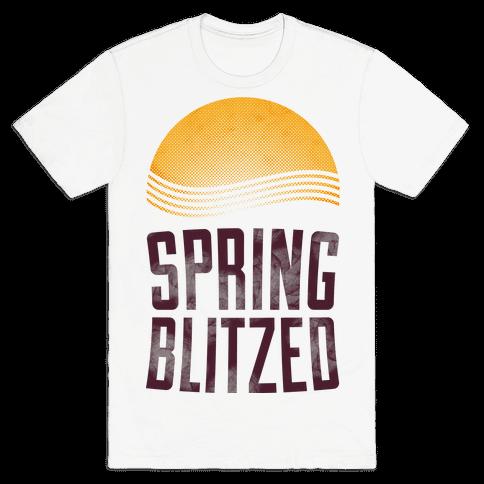 Spring Blitzed Mens T-Shirt