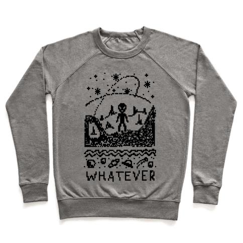 Whatever Alien Ugly Christmas Sweater Pullover