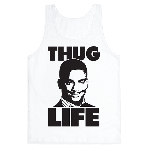 Thug Life Carlton Tank Top