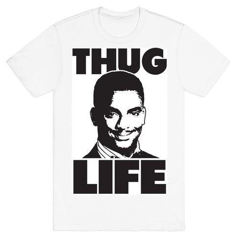 Thug Life Carlton Mens T-Shirt