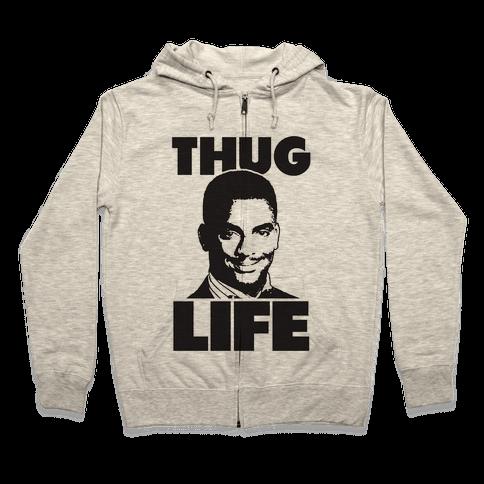 Thug Life Carlton Zip Hoodie