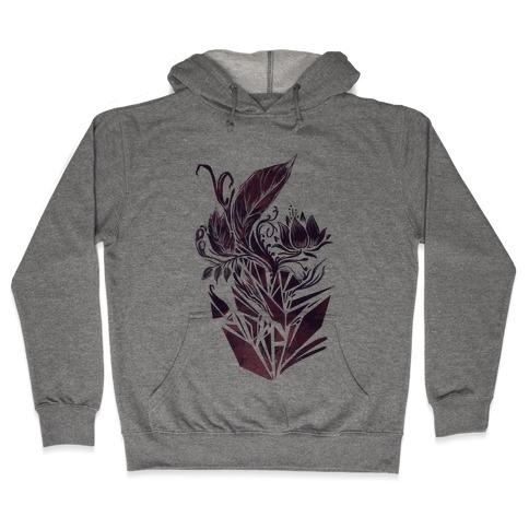 Leaves in Geometry Hooded Sweatshirt