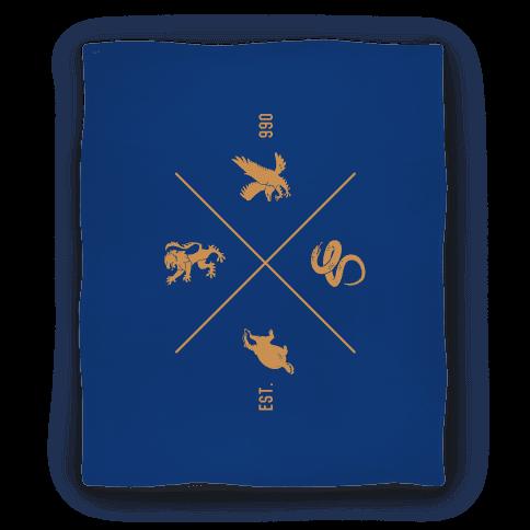 Hogwarts Crest Blanket (Ravenclaw) Blanket
