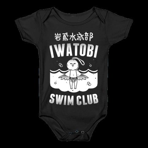 Iwatobi Swim Club Baby Onesy