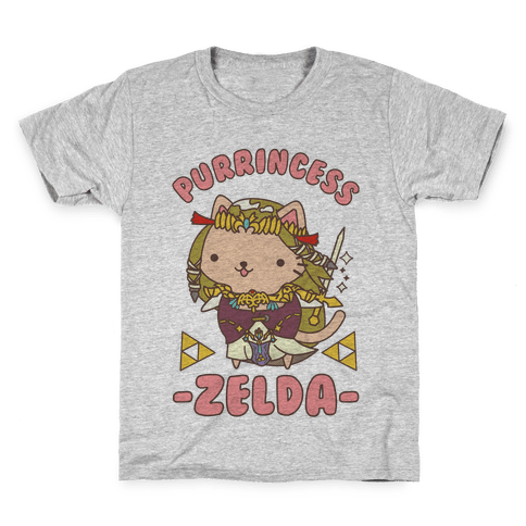 Purrincess Zelda Kids T-Shirt