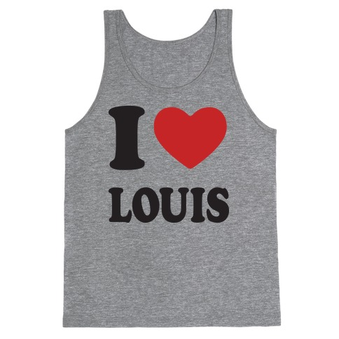 I Love Louis Tank Top