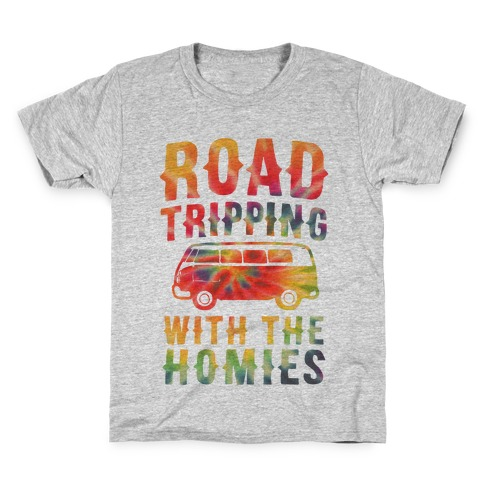 Road Tripping With the Homies Kids T-Shirt
