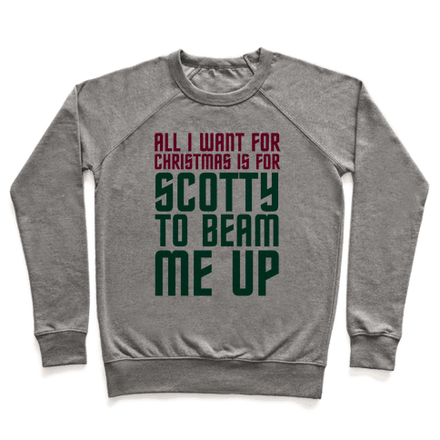 Scotty Beam Me Up Pullover