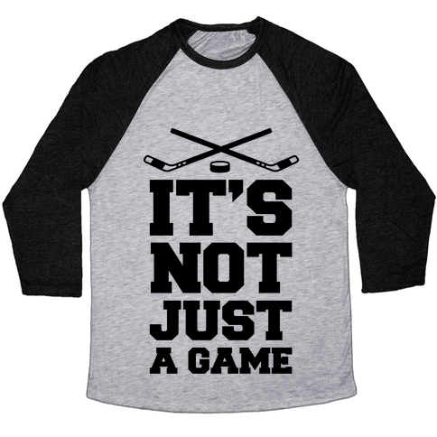 It's Not Just A Game Baseball Tee