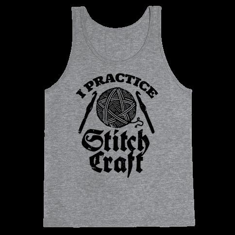 I Practice Stitchcraft Tank Top