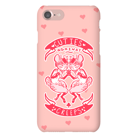 Cuties Against Creeps Phone Case