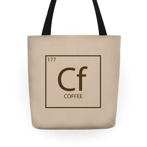 Coffee Periodic Element Tote